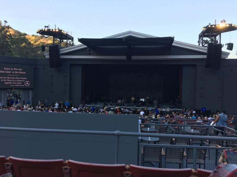 The Greek Theatre, section: B Right Center, row: C, seat: 110