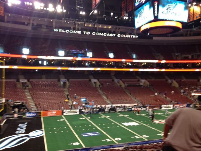 Seating view for Wells Fargo Center Section Club Box 23