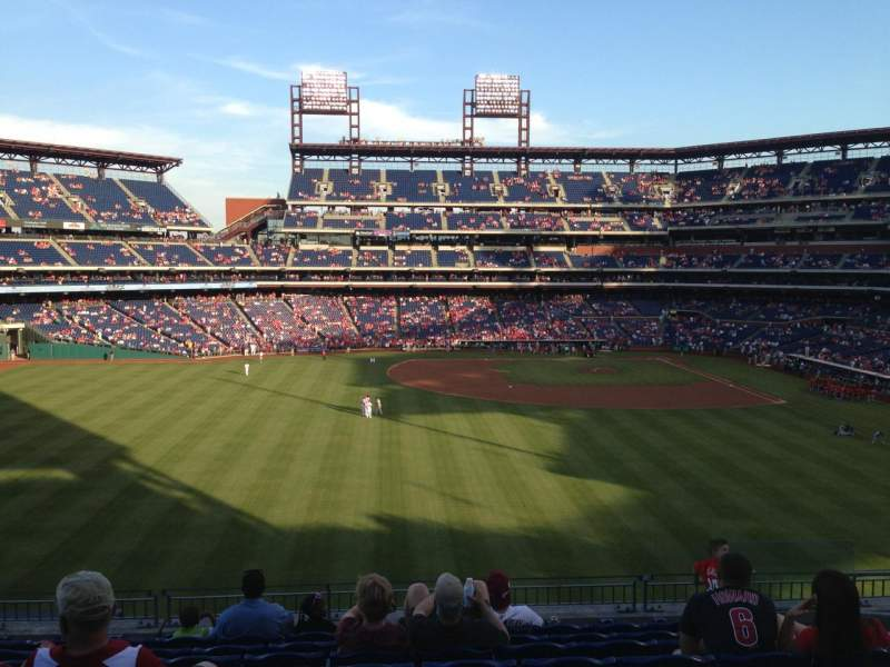 Seating view for Citizens Bank Park Section 244 Row 9 Seat 7