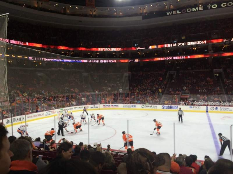 Seating view for Wells Fargo Center Section 112 Row 13 Seat 14
