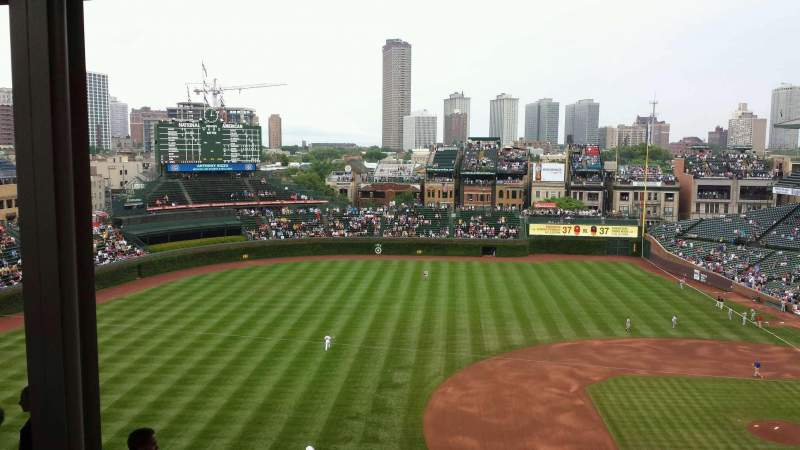 Seating view for Wrigley Field Section 511 Row 5 Seat 8
