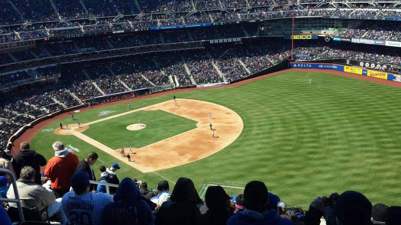 Seating view for Citi Field Section 501 Row 13 Seat 6