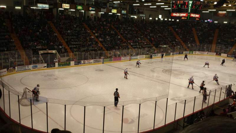 Seating view for Glens Falls Civic Center Section JJ Row 15 Seat 9