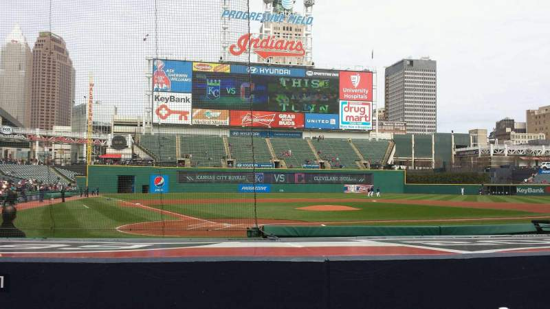 Seating view for Progressive Field Section 151 Row G Seat 5