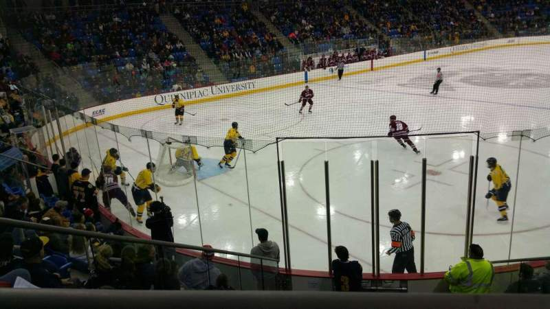 Seating view for TD Bank Sports Center Section 107 Row 9 Seat 13
