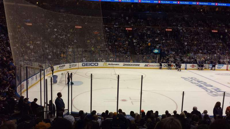 Seating view for Scottrade Center Section 118 Row Q Seat 12