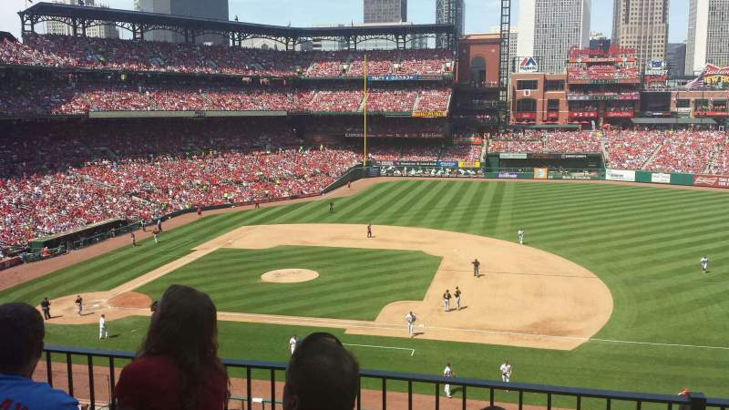 Seating view for Busch Stadium Section 242 Row 3 Seat 10