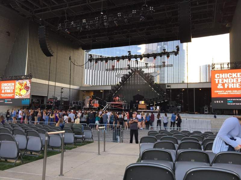 Seating view for Ascend Amphitheater Section 101 Row K Seat 28