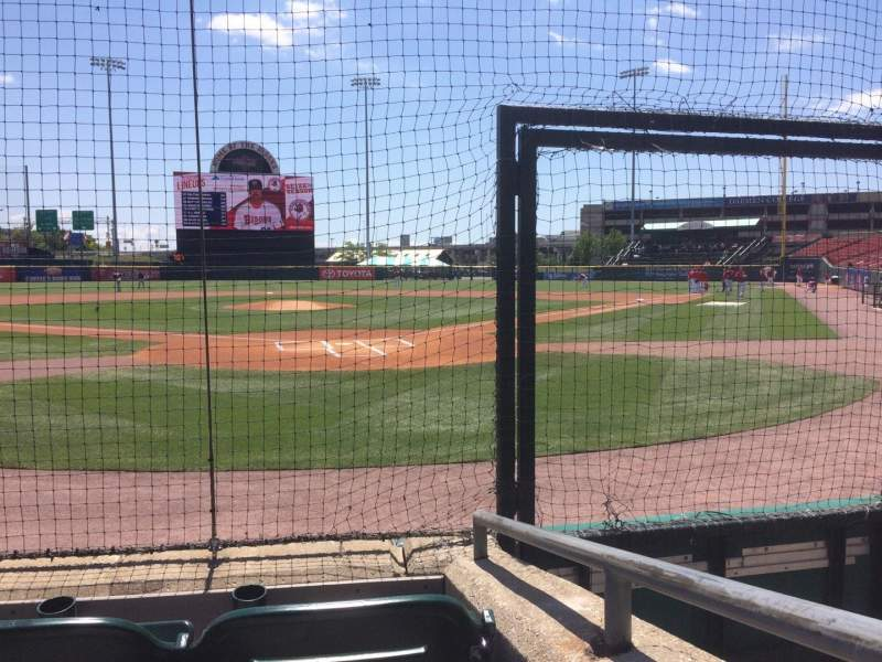 Seating view for Coca-Cola Field Section 103 Row 3 Seat 8