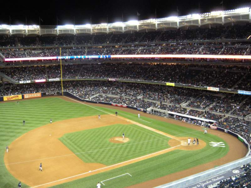 Seating view for Yankee Stadium Section 326 Row 1 Seat 20