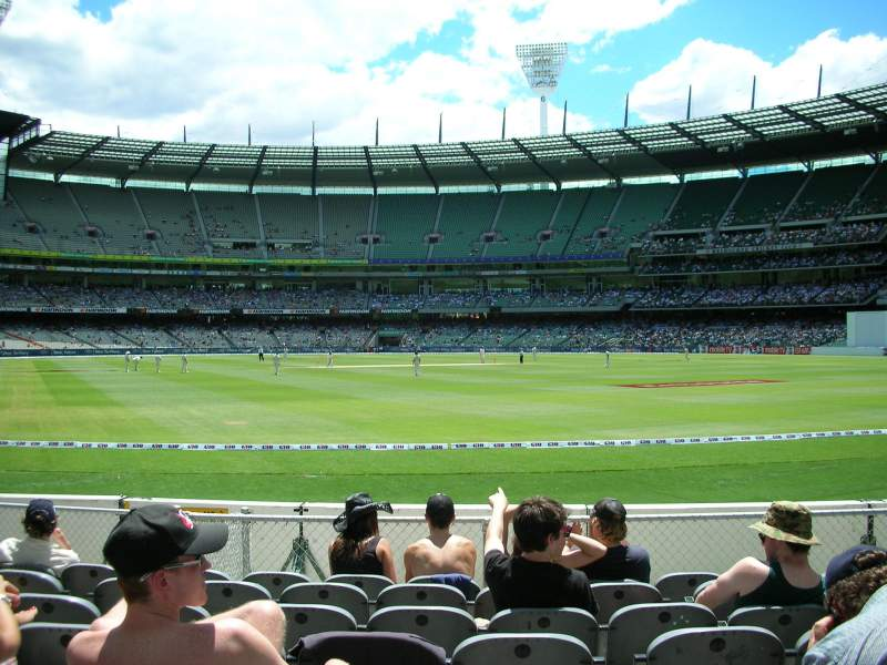 Seating view for Melbourne Cricket Ground Section GENADM Row K Seat 133