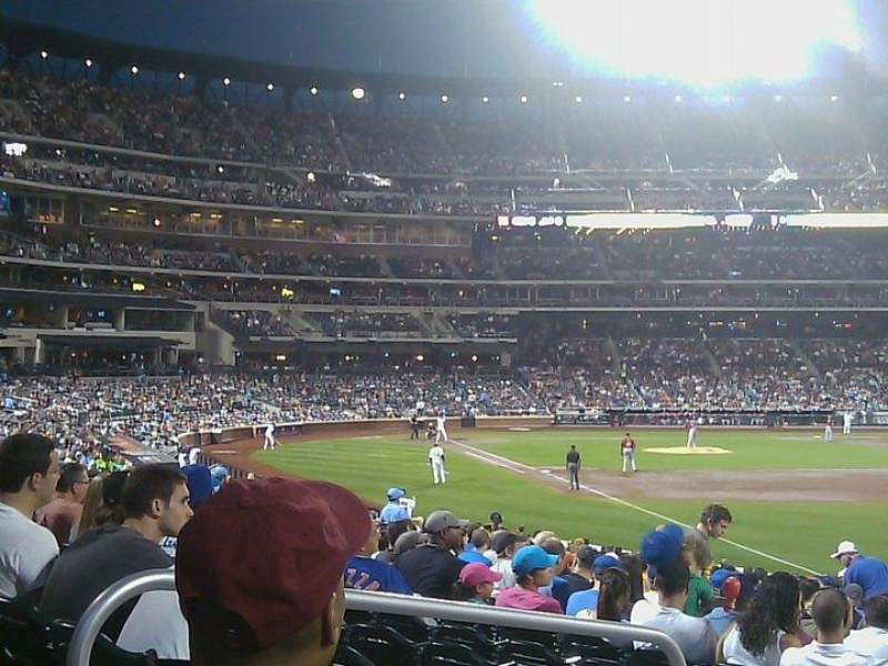 Seating view for Citi Field Section 106 Row 26 Seat 6