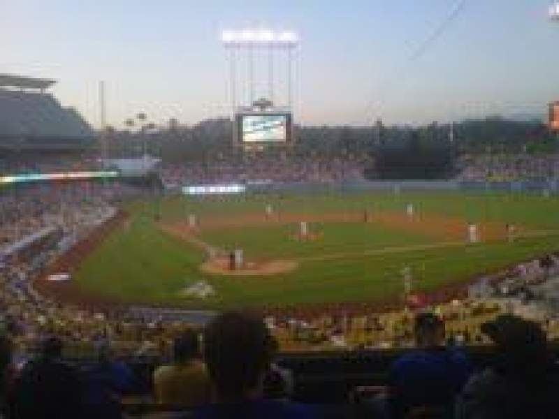 Seating view for Dodger Stadium Section 110LG Row G Seat 7