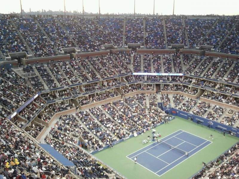 Seating view for Arthur Ashe Stadium Section Broadcast