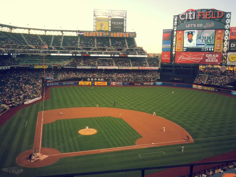 Seating view for Citi Field Section 410 Row 2 Seat 8