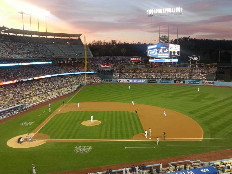 Seating view for Dodger Stadium Section 16RS Row A Seat 6