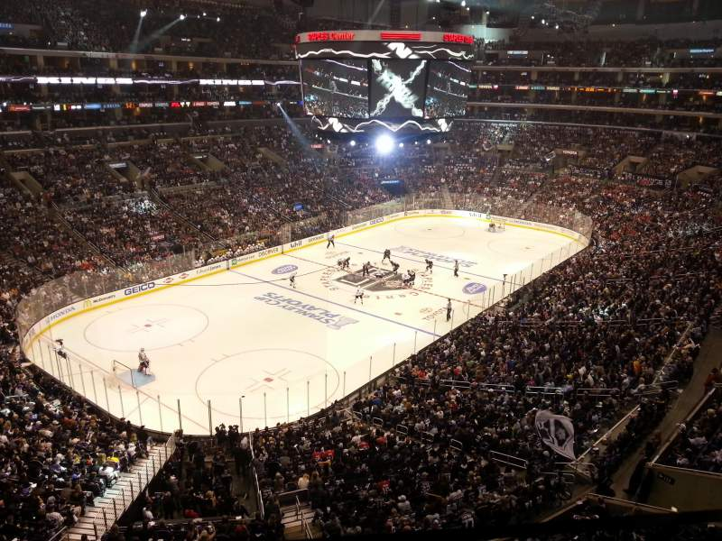 Seating view for Staples Center Section Suite E8 Row 1 Seat 11