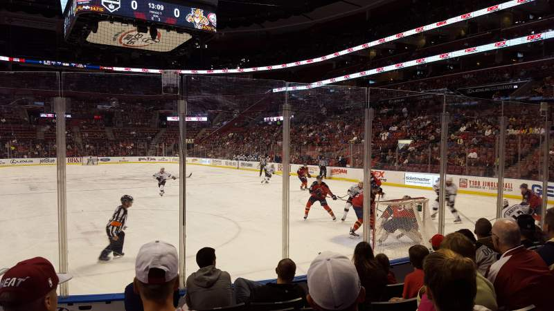 Seating view for BB&T Center Section 111 Row 6 Seat 12