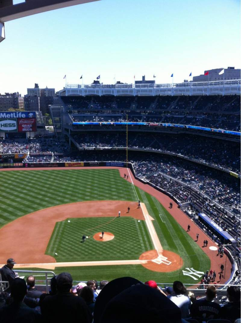 Seating view for Yankee Stadium Section 423 Row 11 Seat 20