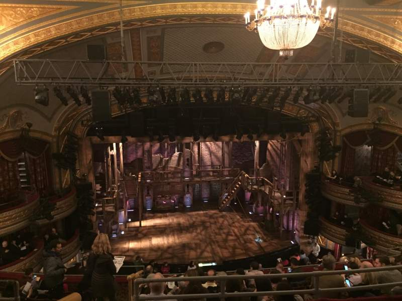 Seating view for Richard Rodgers Theatre Section RMEZZ Row C Seat 114