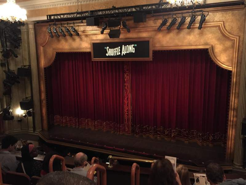 Seating view for Music Box Theatre Section Mezzanine Right Row E Seat 4