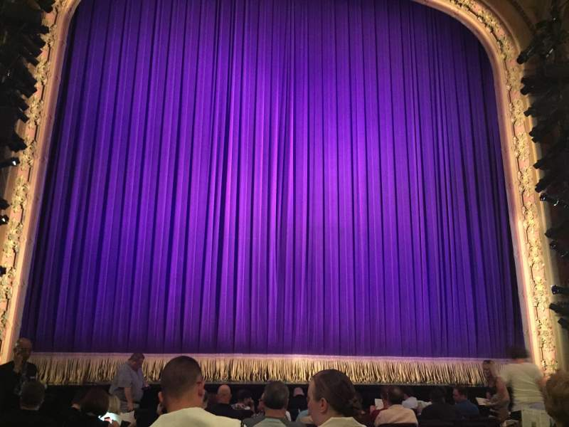 Seating view for Lyceum Theatre (Broadway) Section Orchestra C Row L Seat 112