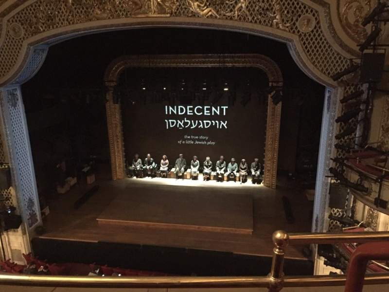 Seating view for Cort Theatre Section Balcony C Row B Seat 114