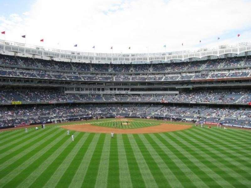 Seating view for Yankee Stadium Section 201 Row 13