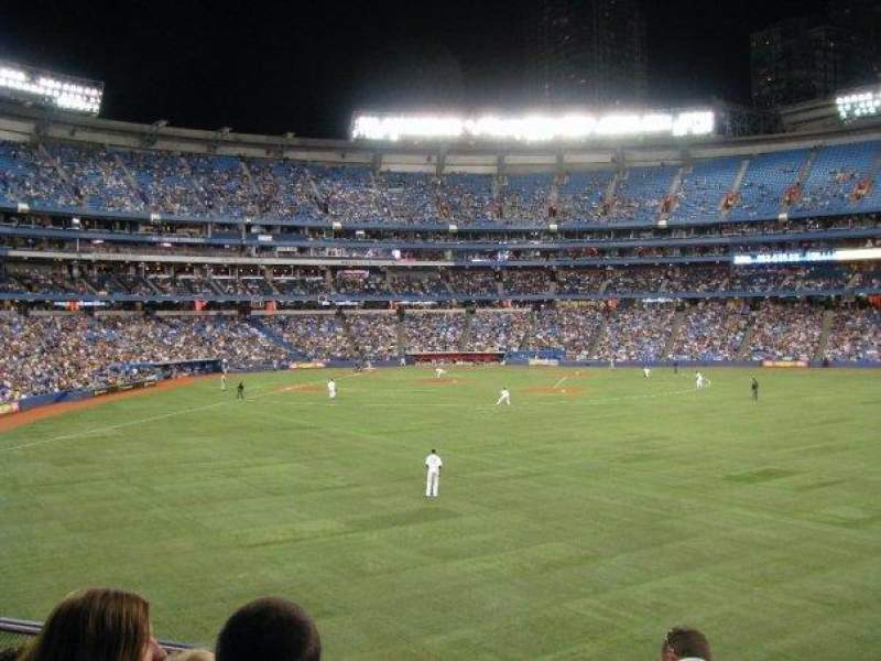 Seating view for Rogers Centre Section 205 Row 9