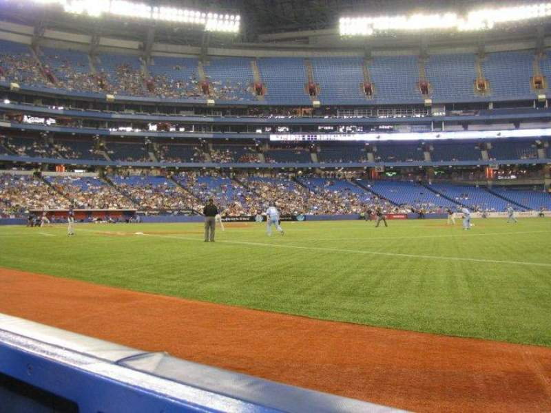 Seating view for Rogers Centre Section 113 Row 1