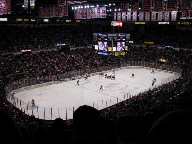 Seating view for Joe Louis Arena Section 226A Row 20