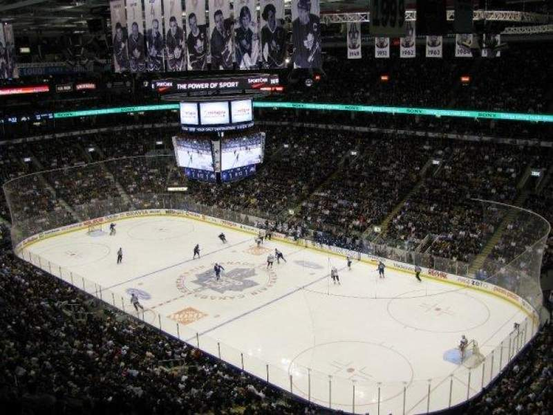 Seating view for Air Canada Centre Section 306 Row 12