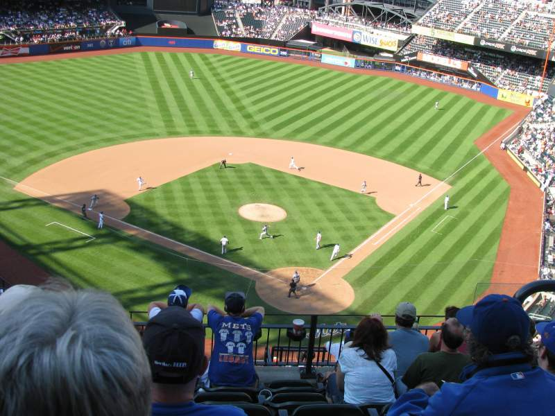 Seating view for Citi Field Section 516 Row 7 Seat 3