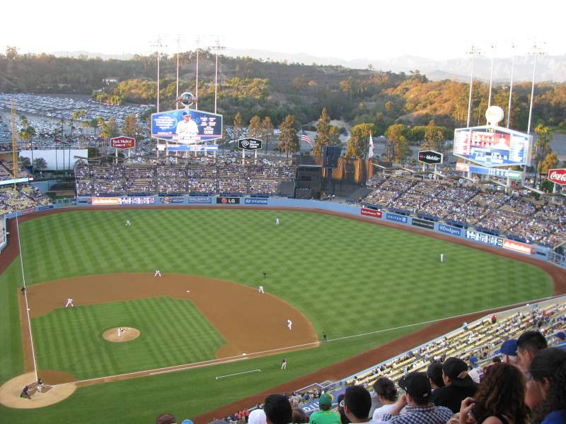 Seating view for Dodger Stadium Section 10TD Row M Seat 2