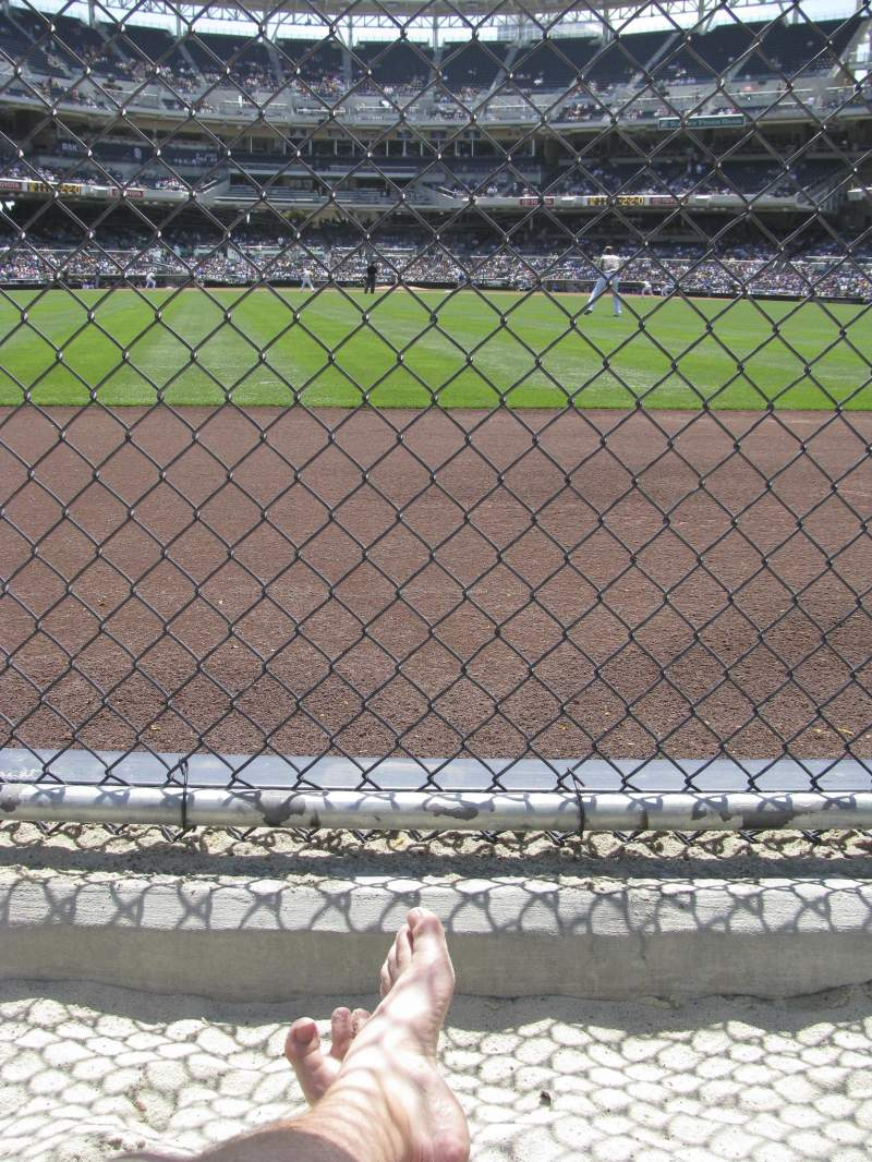 Seating view for PETCO Park Section Beach Club Seat 10