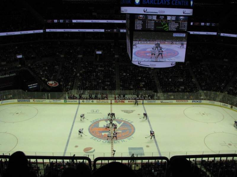 Seating view for Barclays Center Section 226 Row 6