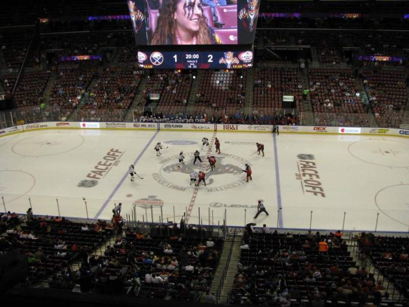 Seating view for BB&T Center Section CL17 Row 1