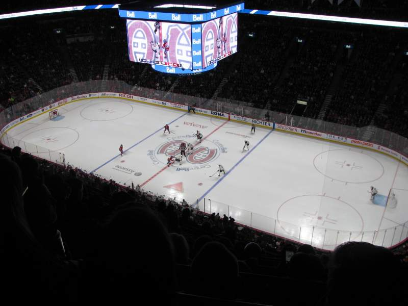 Seating view for Centre Bell Section 334 Row C