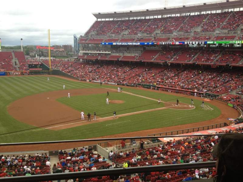 Seating view for Great American Ball Park Section Suite 228 Row 1 Seat 9