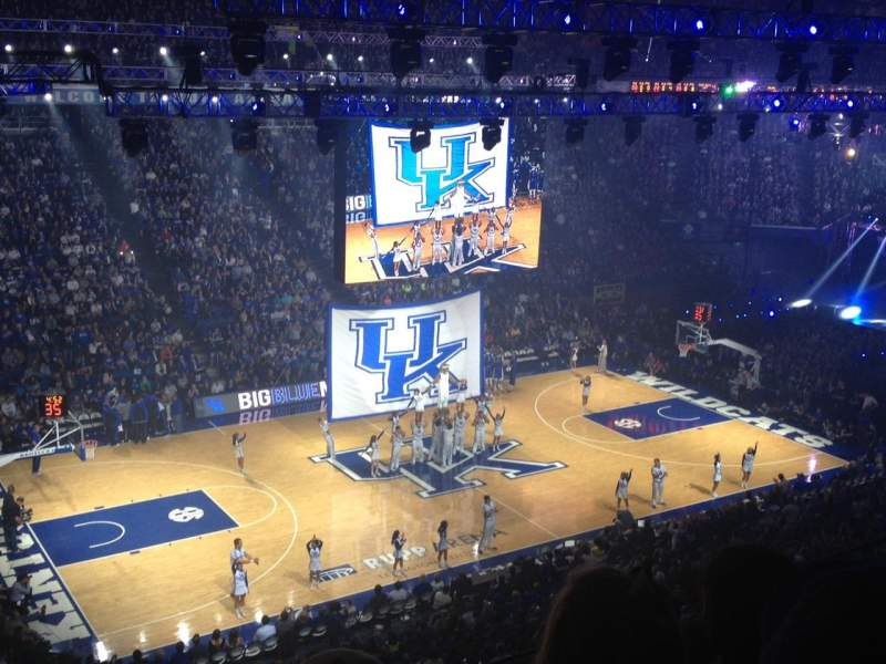 Seating view for Rupp Arena Section 215 Row C Seat 24