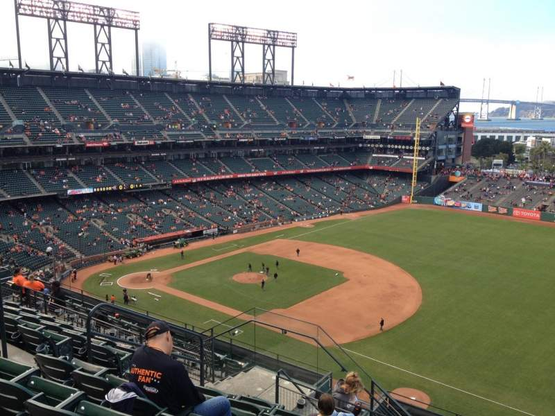 Seating view for AT&T Park Section 302 Row 7 Seat 7