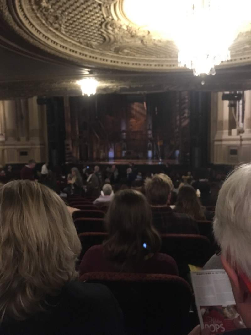 Seating view for Citizens Bank Opera House Section ORCHRC Row W Seat 22