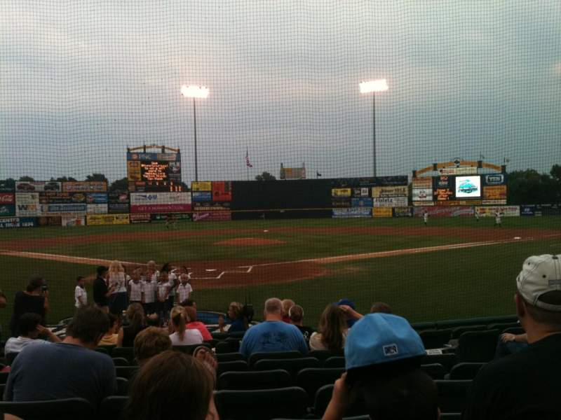 Seating view for Arm & Hammer Park Section 11 Row H Seat 7