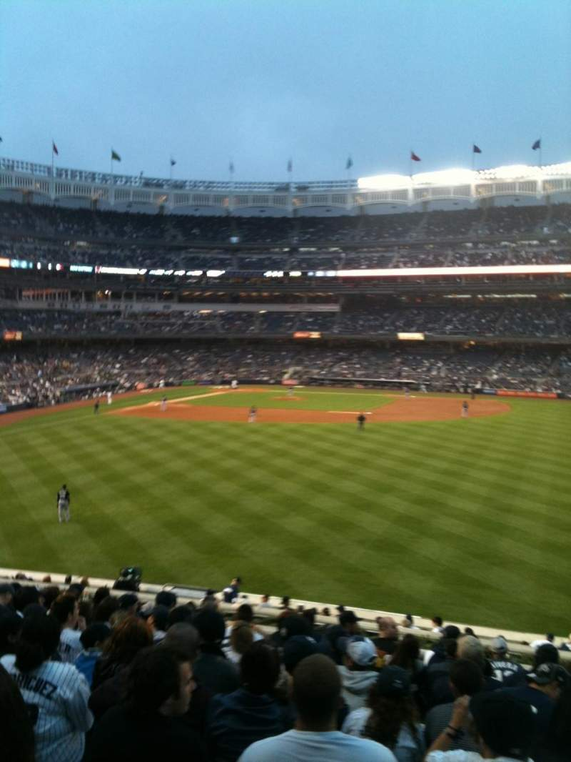 Seating view for Yankee Stadium Section 203 Row 13 Seat 8