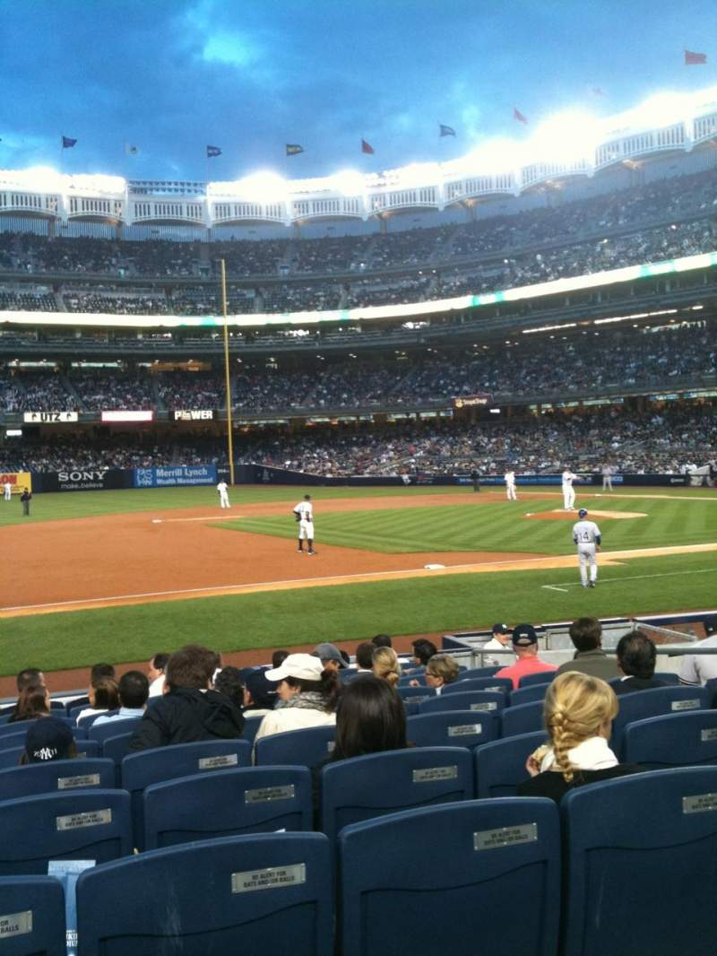 Seating view for Yankee Stadium Section 126 Row 12 Seat 11