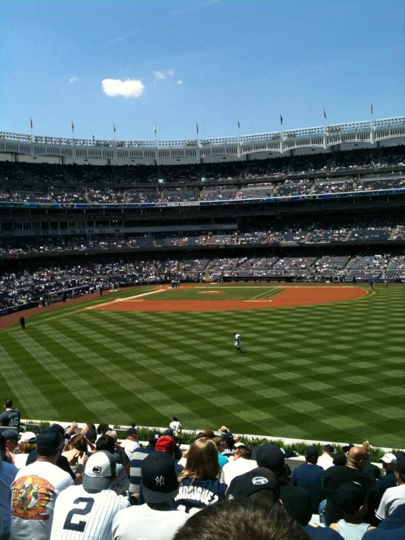 Seating view for Yankee Stadium Section 203 Row 16 Seat 10