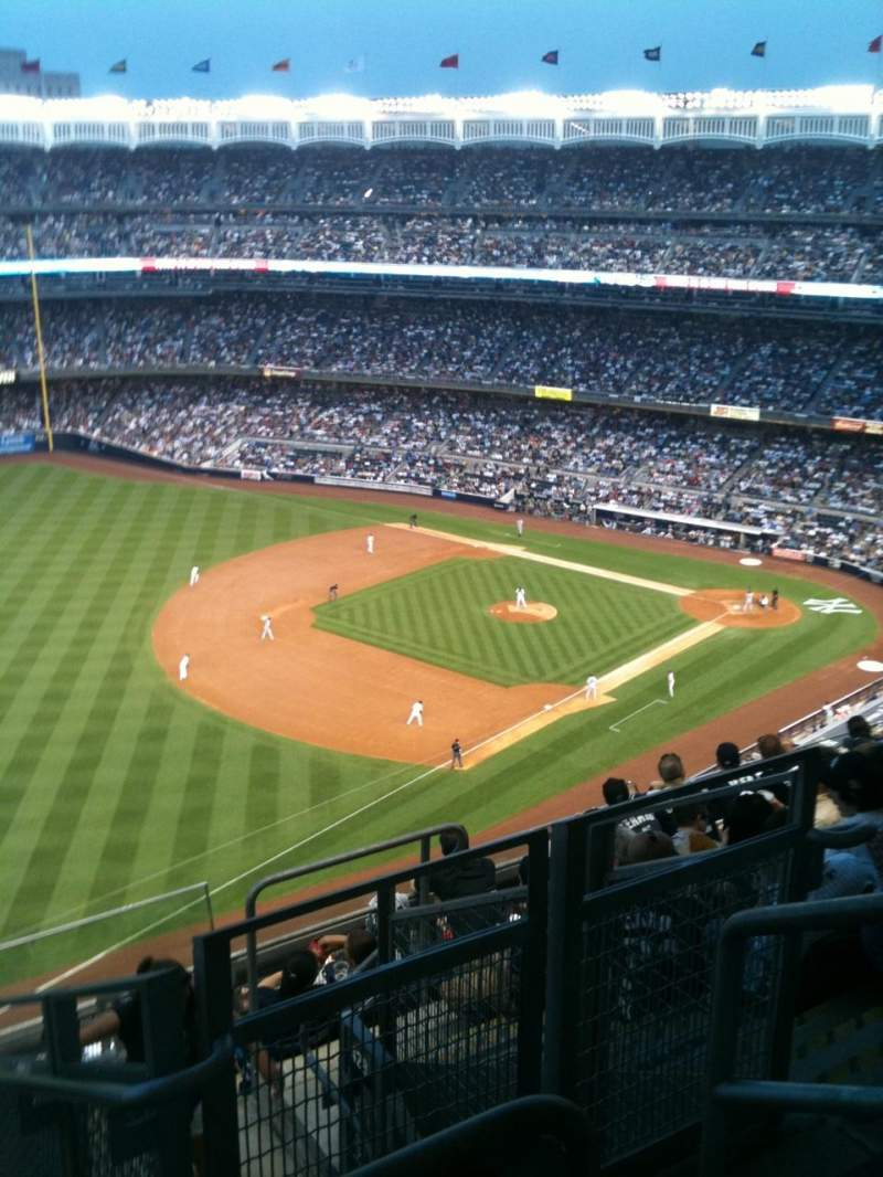 Seating view for Yankee Stadium Section 430 Row 8 Seat 4