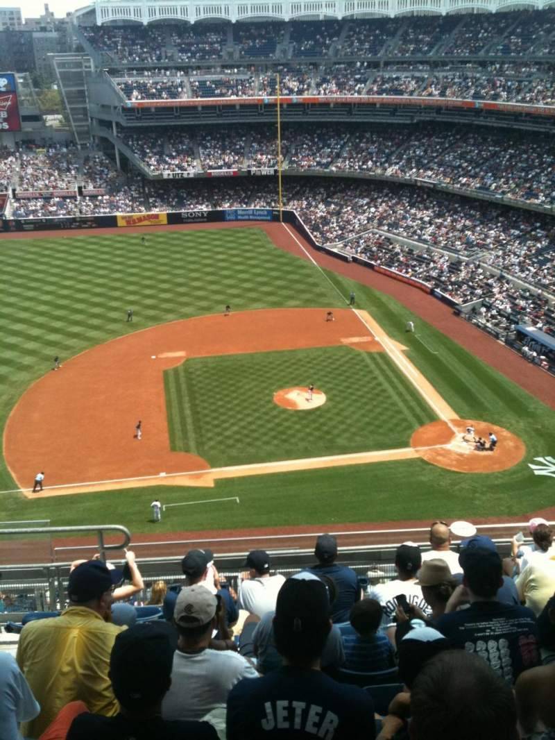 Seating view for Yankee Stadium Section 424 Row 9 Seat 20