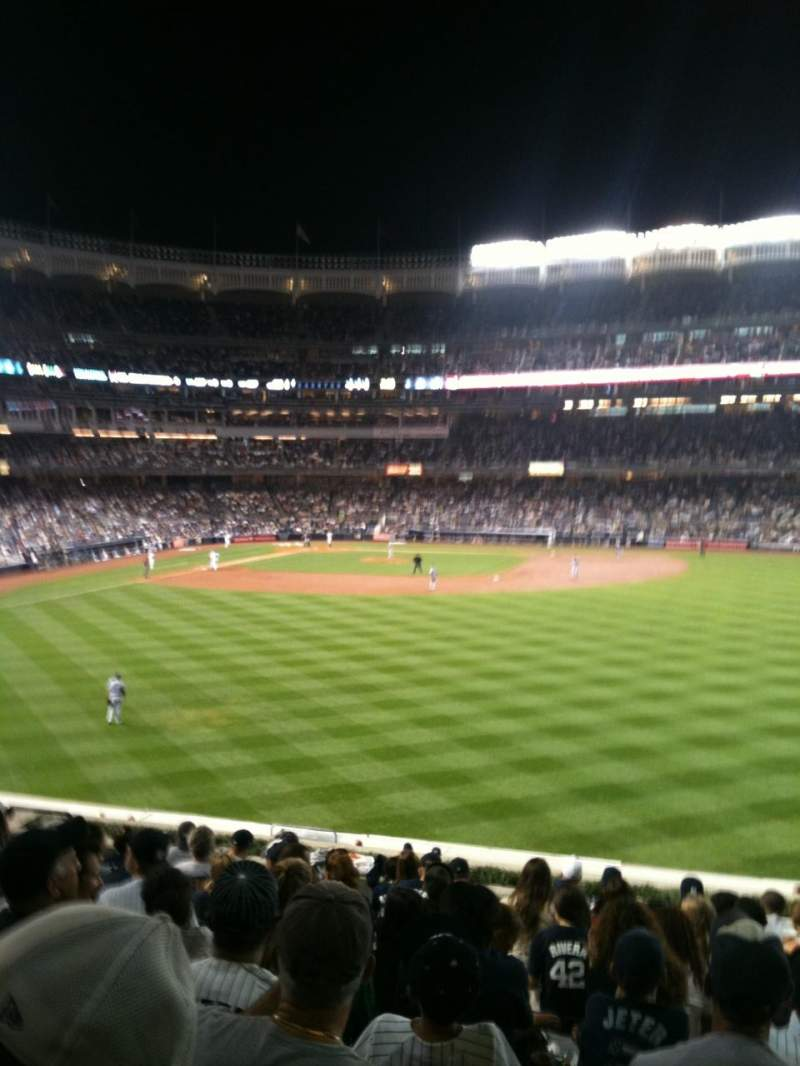 Seating view for Yankee Stadium Section 203 Row 14 Seat 10