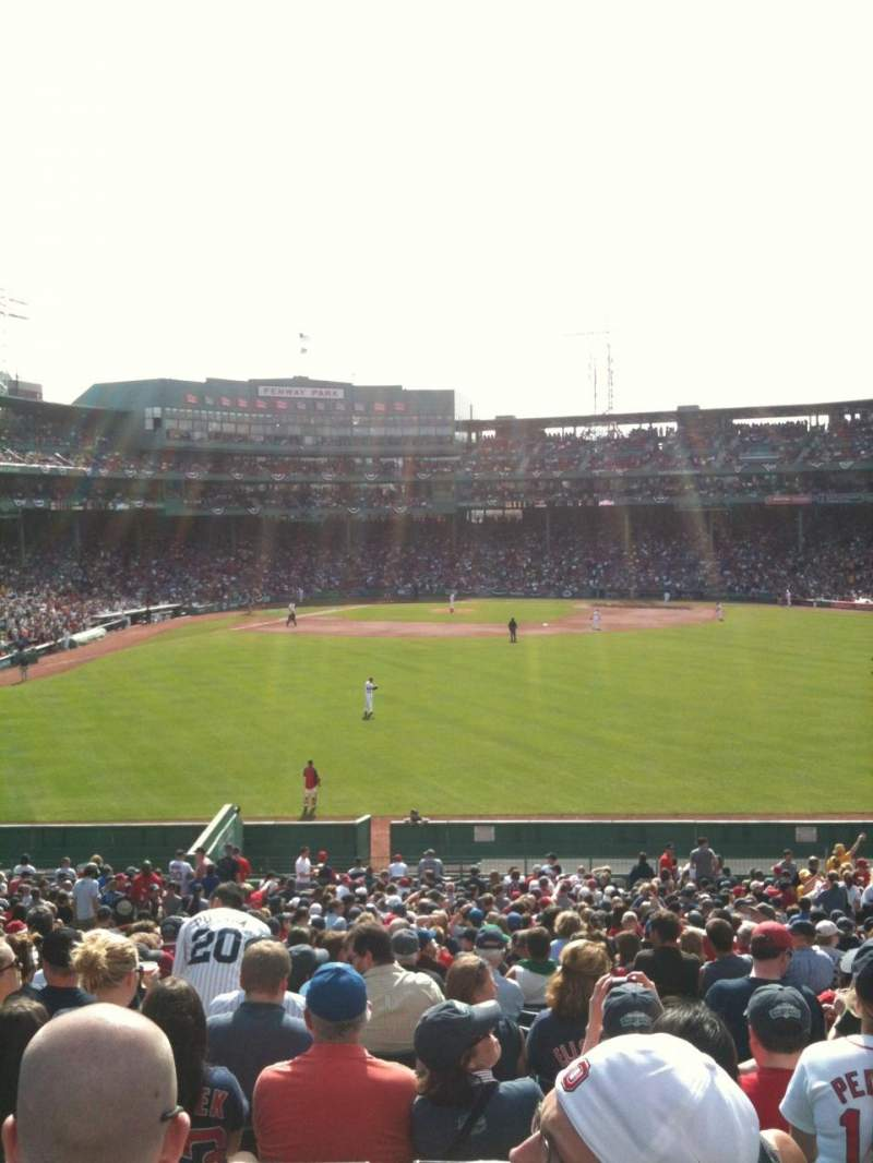 Seating view for Fenway Park Section Bleacher 41 Row 38 Seat 11